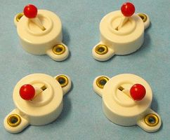 Stevens-Motors Miniature On-Off Switch (SP/ST) (4/Card)