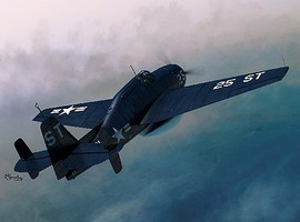 Sword 1/72 TBM3W Guppy Avenger EAW Aircraft (ETA May)