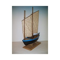 Soclaine 1/20 Sinagot 2-Masted 1943 Morbihan Oyster Fishing Boat
