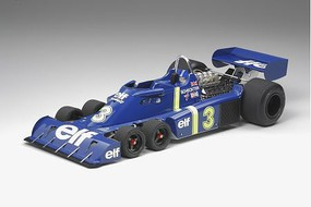 Tamiya Tyrrell P34 6 Wheeler with PE Parts Plastic Model Car Kit 1/12 Scale #12036