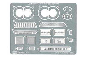 Tamiya Photo Etch Detail Parts Set Nissan GT-R Plastic Model Vehicle Decal Kit 1/24 Scale #12623