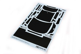 Tamiya Subaru BRZ Decal Set Carbon Pattern Plastic Model Vehicle Accessory 1/24 Scale #12658