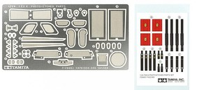 Tamiya FXX K Photo Etched Parts Set Plastic Model Military Vehicle Accessory 1/24 Scale #12668