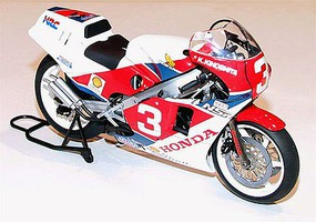 Tamiya Honda NSR500 Factory Color Racing Bike Plastic Model Motorcycle Kit 1/12 Scale #14099