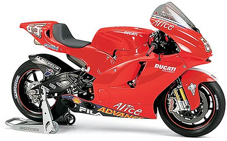 Tamiya Ducati Desmosedici Bike -- Plastic Model Motorcycle Kit -- 1/12 Scale -- #14101