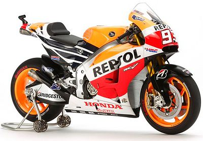Tamiya Repsol Honda RC213V'14 -- Plastic Model Motorcycle Kit -- 1/12 Scale -- #14130