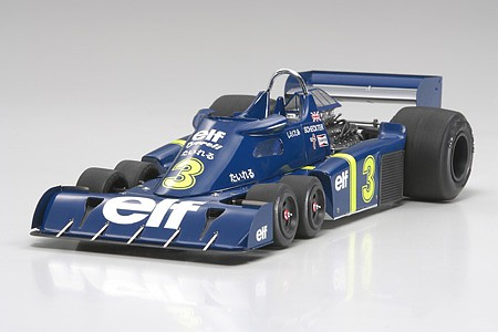 Tamiya Tyrrell P34 Six Wheeler 1976 Japan GP -- Plastic Model Car Kit -- 1/20 Scale -- #20058