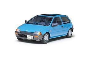 Tamiya Honda City GG Coupe Hatchback Plastic Model Car Kit 1/24 Scale #24069