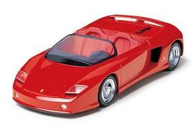 Tamiya Ferrari Mythos Pininfarina Sports Car Convertible Plastic Model Car Kit 1/24 Scale #24104