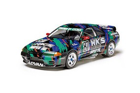 Tamiya HKS Nissan Skyline GT-R Gr.A Racecar Plastic Model Car Kit 1/24 Scale #24135