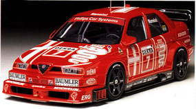 Tamiya Alfa Romeo 155 V6 TI Plastic Model Car Kit 1/24 Scale #24137