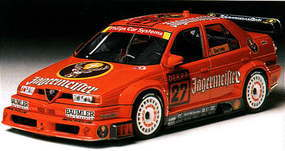 Tamiya Jagermeister Alfa Romeo 155 TI Plastic Model Car Kit 1/24 Scale #24148