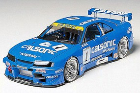 Tamiya Calsonic Skyline GT-R Sportscar Racecar Plastic Model Car Kit 1/24 Scale #24184
