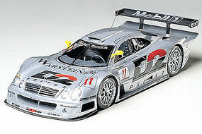 Tamiya Mercedes CLK-GTR Racecar LeMans Plastic Model Car Kit 1/24 Scale #24195