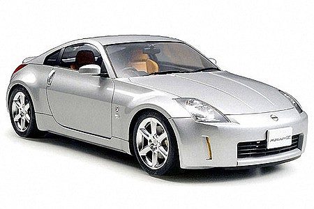 Nissan 350Z Track Coupe Sportscar    Plastic Model Car Kit    1/24 Scale     #24254