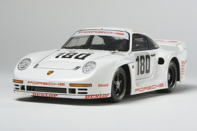 Tamiya Porsche 961 Le Mans 1986 Racecar Plastic Model Car Kit 1/24 Scale #24320