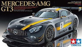 Tamiya Mercedes AMG GT3 Plastic Model Car Kit 1/24 Scale #24345