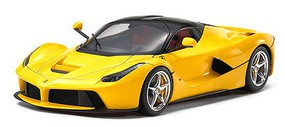 Tamiya LaFerrari Yellow Version Sports Car Plastic Model Car Kit 1/24 Scale #224347