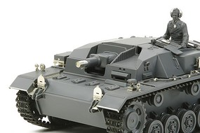 Tamiya German Sturmgeschutz III AusfB Tank Plastic Model Military Vehicle Kit 1/35 Scale #25143