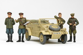 Tamiya Russian Commanders/Staff Car w/Figures Plastic Model Military Vehicle Kit 1/35 Scale #25153