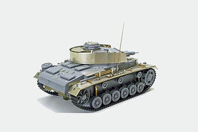 Tamiya German Panzerkampfwagen III w/ABER PE Plastic Model Military Vehicle Kit 1/35 Scale #25159
