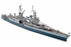Tamiya US Navy Indianapolis Cruiser Boat Plastic Model Military Ship Kit 1/700 Scale #31804
