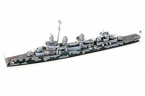 Tamiya USS Fletcher DD445 Destroyer Waterline Plastic Model Military Ship Kit 1/700 Scale #31902