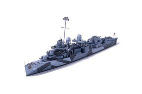 Tamiya Fletcher Cushing DD-797 Destroyer Plastic Model Military Ship Kit 1/700 Scale #31907
