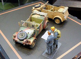 Tamiya German VW Kubelwagen WWII Plastic Model Military Vehicle Kit 1/48 Scale #32501