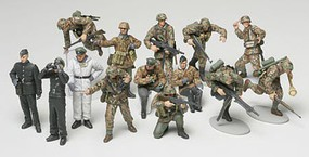 Tamiya WWII Panzer Grenadier Soldier Set Plastic Model Military Figure Kit 1/48 Scale #32514