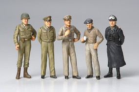 Tamiya Famous Generals Soldiers Leaders Plastic Model Military Figure Kit 1/48 Scale #32557