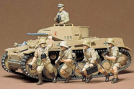 Tamiya German Panzerkampfwagen II -- Plastic Model Military Vehicle Kit -- 1/35 Scale -- #35009