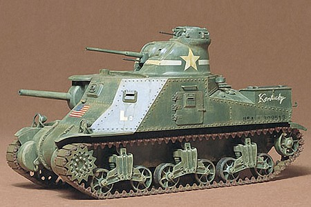 Tamiya US M3 Tank Lee -- Plastic Model Military Vehicle Kit -- 1/35 Scale -- #35039