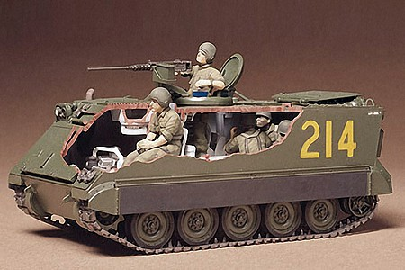 Tamiya US M113 APC CA140 -- Plastic Model Military Vehicle Kit -- 1/35 Scale -- #35040