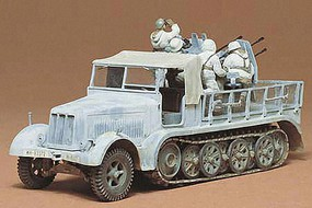 Tamiya German 8 Ton 1/2 Track Sd.Kfz. Plastic Model Military Vehicle Kit 1/35 Scale #35050