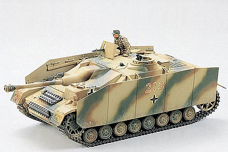 Tamiya German Sturmgeschutz IV Tank -- Plastic Model Military Vehicle Kit -- 1/35 Scale -- #35087