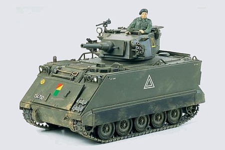 Tamiya US M113A1 Fire Support Vehicle -- Plastic Model Military Vehicle Kit -- 1/35 Scale -- #35107
