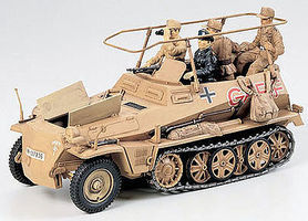 Tamiya German SdKfz 250/3 Greif Halftrack Plastic Model Military Vehicle Kit 1/35 Scale #35113