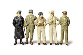 Tamiya Famous Generals Plastic Model Military Vehicle Kit 1/35 Scale #35118
