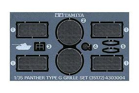 Tamiya German Panther Photo-Etched Grille Plastic Model Military Diorama Set 1/35 Scale #35172