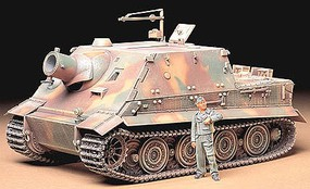 Tamiya German Assault Mortar-Sturmtiger Plastic Model Military Vehicle Kit 1/35 Scale #35177