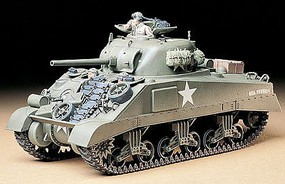 Tamiya US M4 Sherman Medium Tank Plastic Model Military Vehicle Kit 1/35 Scale #35190