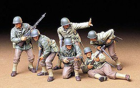 Tamiya US Army Assault Infantry Soldiers Plastic Model Military Figure Kit 1/35 Scale #35192