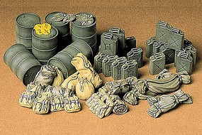 Tamiya Allied Vehicles Accessory Set Plastic Model Military Diorama Kit 1/35 Scale #35229