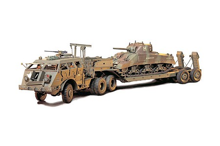 Tamiya US 40-Ton Tank Transporter -- Plastic Model Military Vehicle Kit -- 1/35 Scale -- #35230