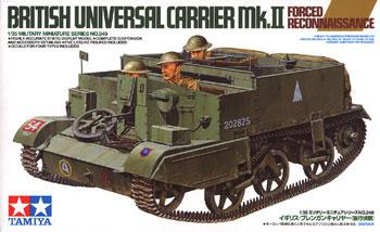 Tamiya British Universal Carrier -- Plastic Model Military Vehicle Kit -- 1/35 Scale -- #35249
