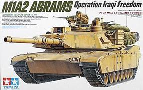 Tamiya M1A2 Abrams 120mm Gun Tank Plastic Model Military Vehicle Kit 1/35 Scale #35269