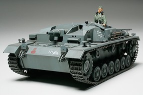 Tamiya German Sturmgeschutz III Ausf B Tank Plastic Model Military Vehicle Kit 1/35 Scale #35281