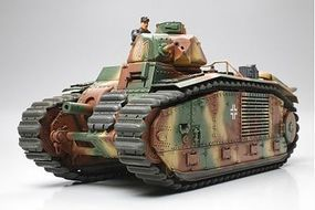 Tamiya German Army B1bis Tank Plastic Model Military Vehicle Kit 1/35 Scale #35287