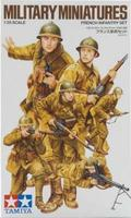 Tamiya WWII French Infantry Set Plastic Model Military Figure Kit 1/35 Scale #35288